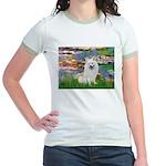 Lilies / Eskimo Spitz #1 Jr. Ringer T-Shirt