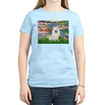 Lilies / Eskimo Spitz #1 Women's Light T-Shirt