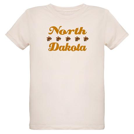 North Dakota Organic Kids T-Shirt