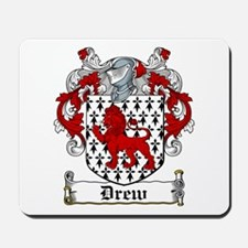 Drew Coat of Arms Mousepad