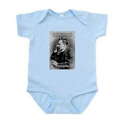 Vanity God and Nietzsche Infant Creeper