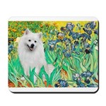 Irises / Eskimo Spitz #1 Mousepad
