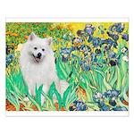 Irises / Eskimo Spitz #1 Small Poster