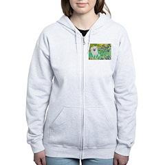 Irises / Eskimo Spitz #1 Zip Hoodie