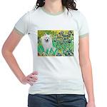 Irises / Eskimo Spitz #1 Jr. Ringer T-Shirt