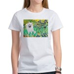 Irises / Eskimo Spitz #1 Women's T-Shirt
