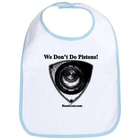 We Don't Do Pistons! - Racing Rotary Baby Bib