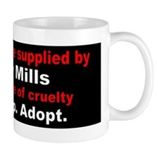 Funny Puppy mills Mug
