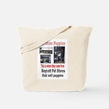 Cute Pet store Tote Bag
