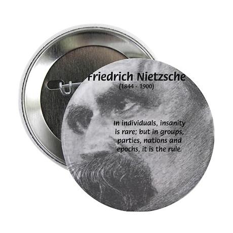 Group Insanity: Nietzsche Button