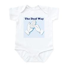 The Deaf Way Infant Creeper