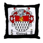 Elwood Coat of Arms Throw Pillow