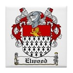 Elwood Coat of Arms Tile Coaster