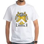 Fanning Coat of Arms White T-Shirt