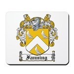 Fanning Coat of Arms Mousepad
