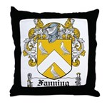 Fanning Coat of Arms Throw Pillow