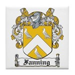 Fanning Coat of Arms Tile Coaster