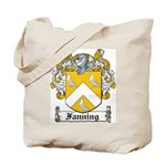 Fanning Coat of Arms Tote Bag