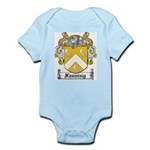 Fanning Coat of Arms Infant Creeper