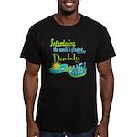 Best Daddy Ever Men's Fitted T-Shirt (dark)