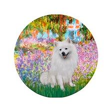 "Garden / Eskimo Spitz #1 3.5"" Button"