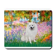 Garden / Eskimo Spitz #1 Mousepad