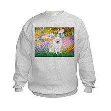 Garden / Eskimo Spitz #1 Sweatshirt