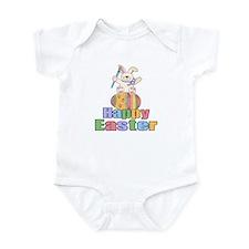 Happy Easter Artist Bunny Onesie
