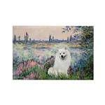 Seine / Eskimo Spitz #1 Rectangle Magnet