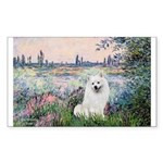 Seine / Eskimo Spitz #1 Sticker (Rectangle 10 pk)