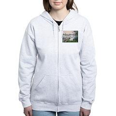 Seine / Eskimo Spitz #1 Zip Hoodie