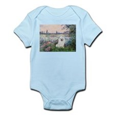 Seine / Eskimo Spitz #1 Infant Bodysuit
