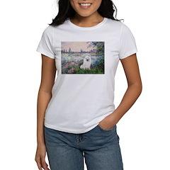 Seine / Eskimo Spitz #1 Women's T-Shirt