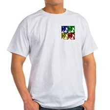 Two Sides Printed Design T-Shirt