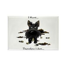 Scottish Terrier - I Hunt Rectangle Magnet