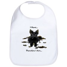 Scottish Terrier - I Hunt Bib
