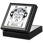 Ferris Coat of Arms Keepsake Box