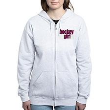 Hockey Girl Zip Hoodie