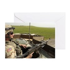 Stryker Gunner Greeting Cards (Pk of 10)
