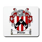 Finche Coat of Arms Mousepad