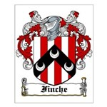Finche Coat of Arms Small Poster