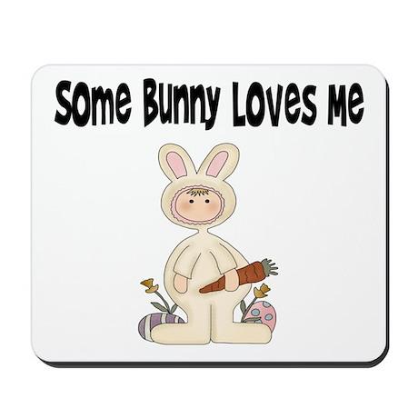 Bunny T Shirt Mousepad