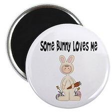 Bunny T Shirt Magnet