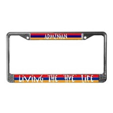 LIVING THE 'HYE' LIFE - License Plate Frame