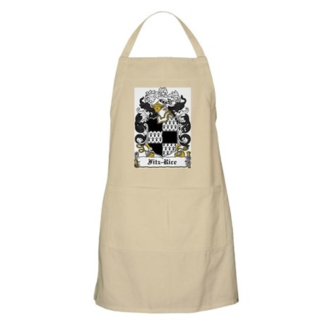 Fitz-Rice Coat of Arms BBQ Apron