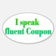 Fluent Coupon - Oval Decal
