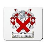 Fitz-Thomas Coat of Arms Mousepad