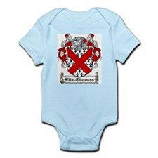 Fitz-Thomas Coat of Arms Infant Creeper
