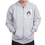 Debutant penguin Zip Hoodie