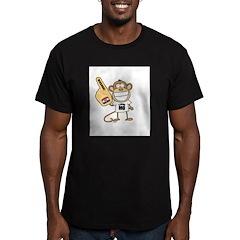 MISSOURI MONKEY Men's Fitted T-Shirt (dark)